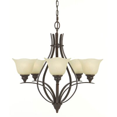Feiss Morningside 5 Light Chandelier