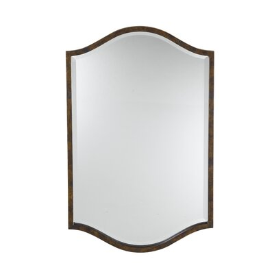 Feiss Drawing Room Mirror in Walnut