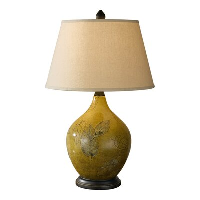 Feiss Hand Painted Porcelain 1 Light Table Lamp
