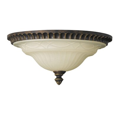 Feiss Drawing Room 2 Light Flush Mount