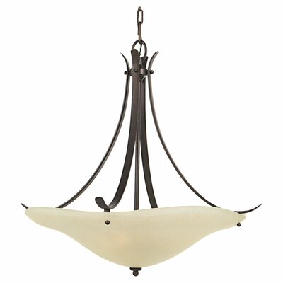Feiss Morningside 3 Light Inverted Pendant