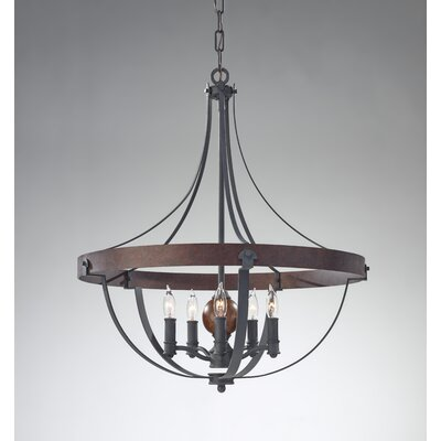 Feiss Alston 5 Light Chandelier