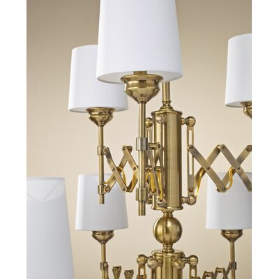 Feiss Hugo 9 Light Chandelier