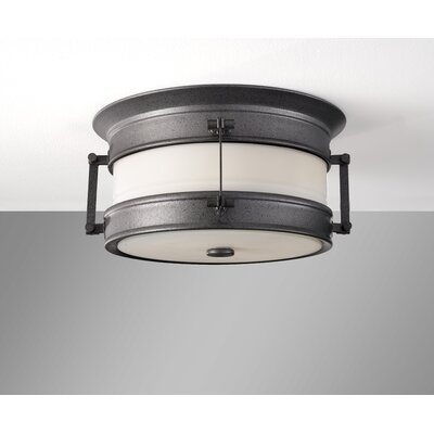 Feiss Dockyard 1 Light Outdoor Flush Mount