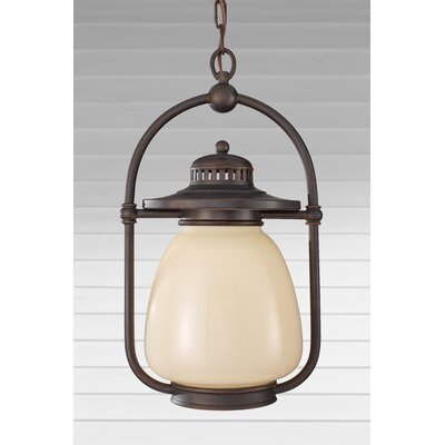 Feiss McCoy 1 Light Outdoor Hanging Lantern