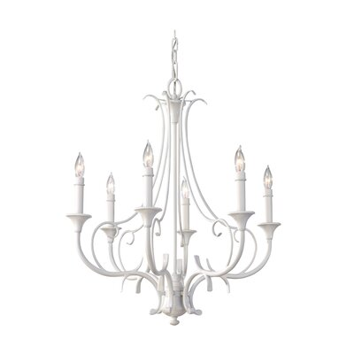 Peyton Saltspray 6 Light Chandelier