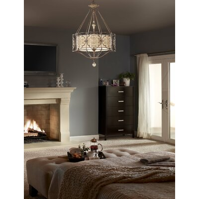 Feiss Marcella 3 Light Semi Flush Mount