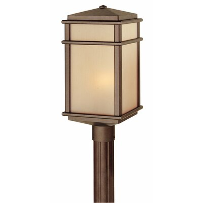 Feiss Mission Lodge 1 Light Outdoor Post Lantern