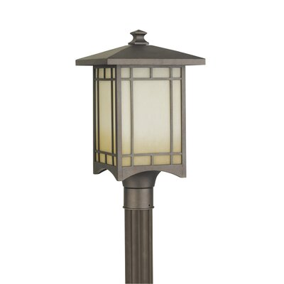 Feiss August Moon 1 Light Outdoor Post Lantern