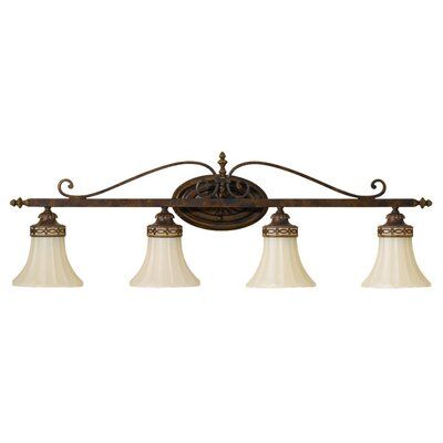 Feiss Drawing Room 4 Light Bath Vanity Light