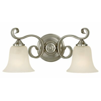 Feiss Vista 2 Light Bath Vanity Light