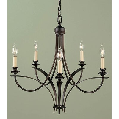 Feiss .4Boulevard 5 Light Chandelier
