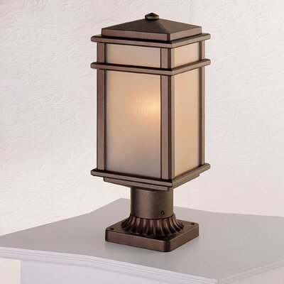 Feiss Mission Lodge 1 Light Post Lantern