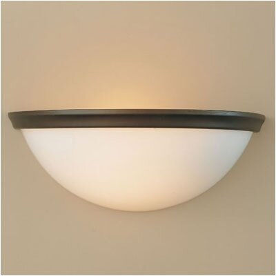Feiss Gravity  Half Wall Sconce Lamp in Oil Rubbed Bronze
