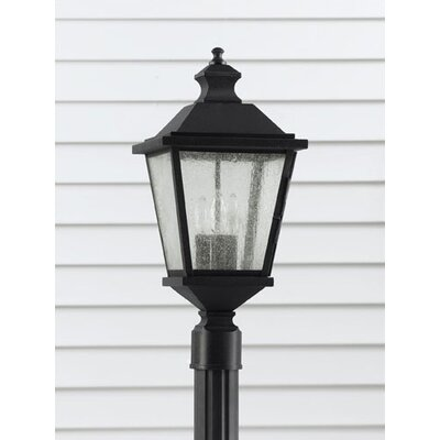 "Feiss Woodside Hills 3 Light 9.75"" Outdoor Post Lantern"