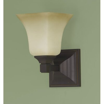 Rubbed Bronze Bathroom Lighting on Feiss American Foursquare Vanity Light In Oil Rubbed Bronze   Wayfair