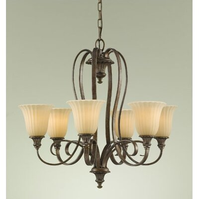 Feiss Somerset 6 Light Chandelier
