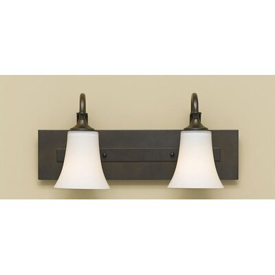 Feiss Barrington Vanity Light in Oil Rubbed Bronze