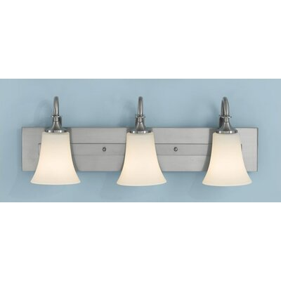 Feiss Barrington Vanity Light in Brushed Steel