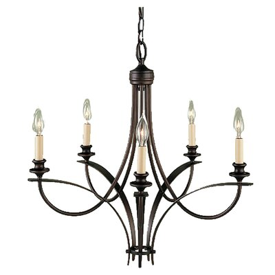 Boulevard 5 Light Chandelier