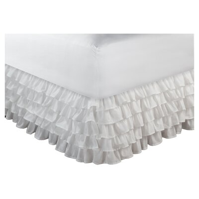 Multi-Ruffle Bed Skirt