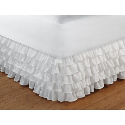 Greenland Home Fashions Multi-Ruffle Bedskirt