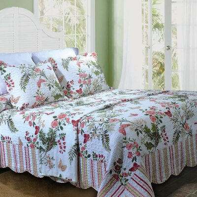 Greenland Home Fashions Secret Garden Bedding Collection