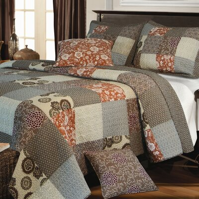 Greenland Home Fashions Stella Bonus Quilt Set