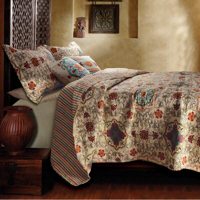 Greenland Home Fashions Esprit Spice 5 Piece Bonus Quilt Set