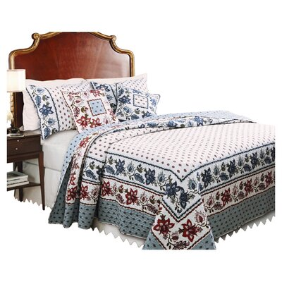 Greenland Home Fashions Madeline Quilt Collection