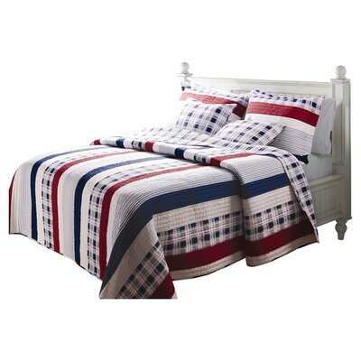 Greenland Home Fashions Nautical Quilt Collection