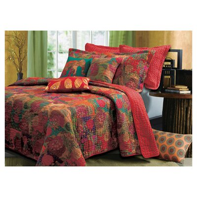 <strong>Greenland Home Fashions</strong> Jewel Bonus Quilt Set