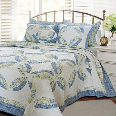 <strong>Greenland Home Fashions</strong> Francesca Quilt Set