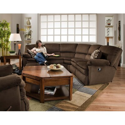 Catnapper Falcon Reclining Sectional