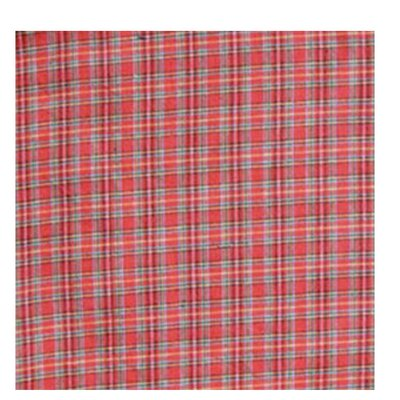 Patch Magic Red Plaid and Green Black Lines Napkin (Set of 4)