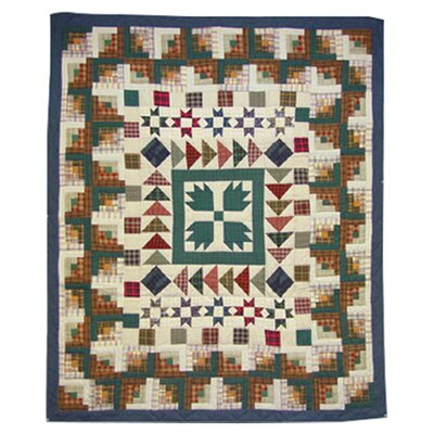 <strong>Patch Magic</strong> Bear Creek Cotton Throw Quilt