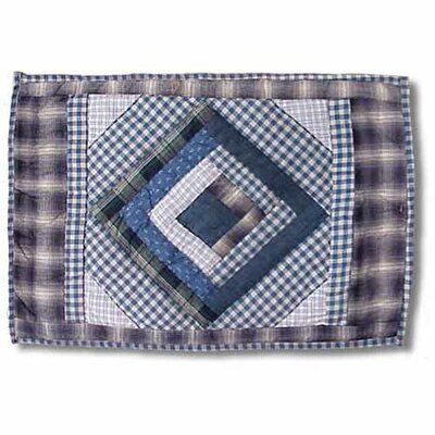 Patch Magic Blue Log Cabin Placemat (Set of 4)