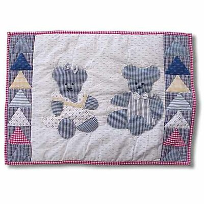 Blue Teddy Bear Placemat (Set of 4)