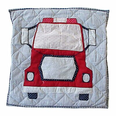 Fire Truck Toss Pillow