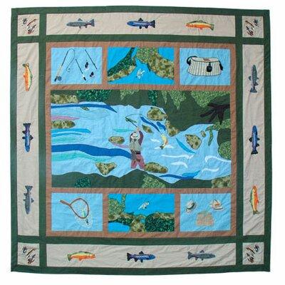 Fly Fishing Cotton Shower Curtain Wayfair