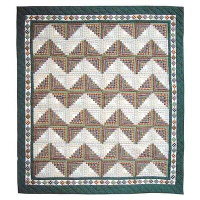Patch Magic Peasant Log Cabin Quilt