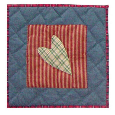 Primitive Hearts Toss Pillow