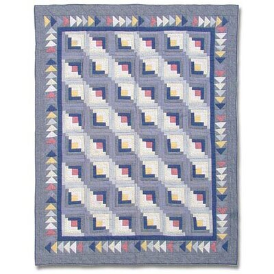 Patch Magic Sail Log Cabin Quilt