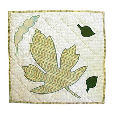 Spring Leaves Toss Pillow