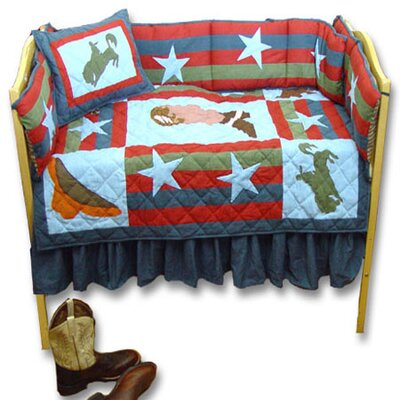 Patch Magic Wild West Crib Bedding Collection