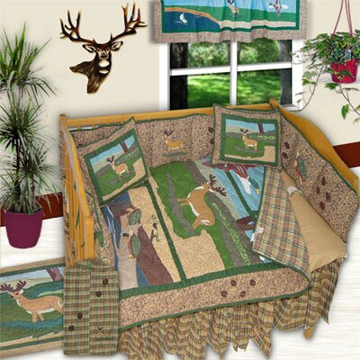 Patch Magic Wilderness 6 Piece Crib Bedding Set
