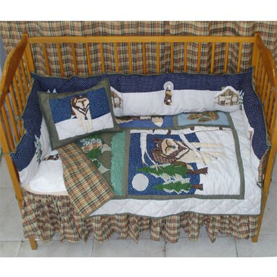 Patch Magic Wolf Crib Bedding Collection