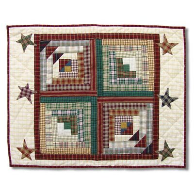 Patch Magic Woodland Star And Geese Standard Pillow Sham
