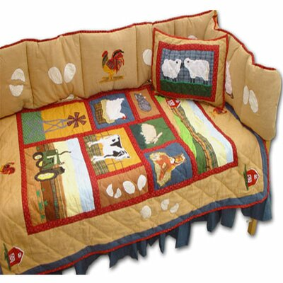 Patch Magic Barnyard Crib Bedding Collection