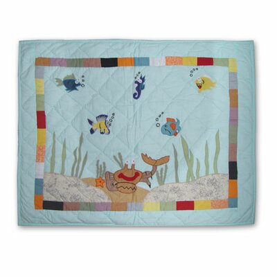 Patch Magic Kids Aquarium Standard Pillow Sham